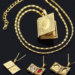 Gold Quaran Locket (SA)